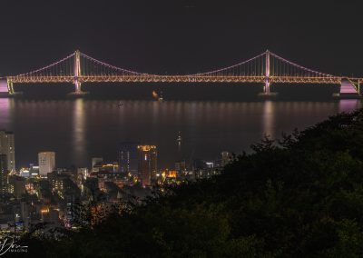 Gwangan Bridge at Night