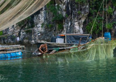 Ha Long Bay Fisherman