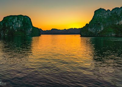 Night Comes to Ha Long Bay