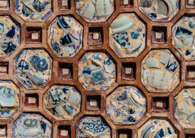 Imperial City Palace Pottery Wall