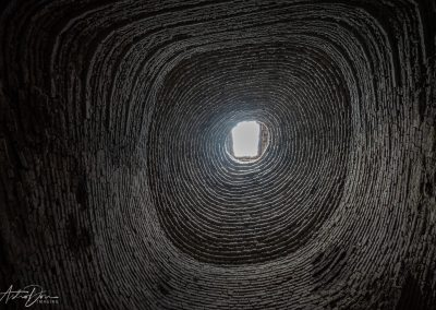 Inside Brick Kiln