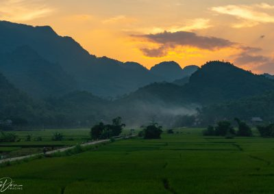 Mai Chau Sunset