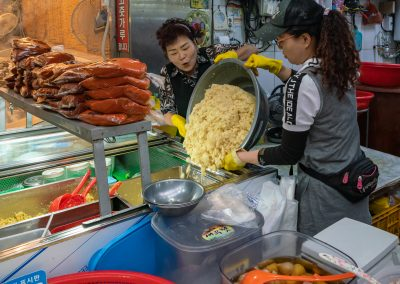 Seongdon Market Vendor