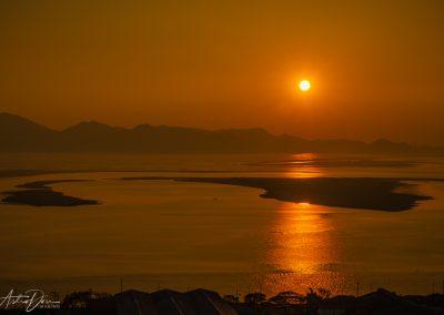 Sunset South of Busan