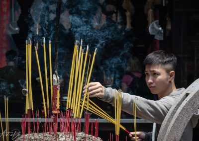 Tending Incense