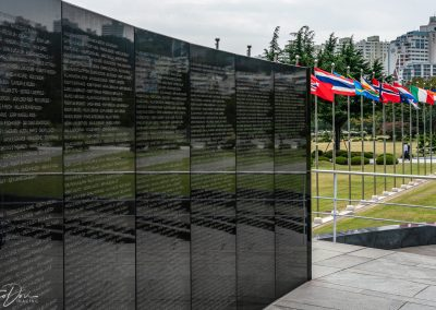 Solemn UN Memorial Cemetary