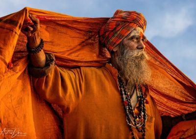 Varanasi Sadhu Unfurled