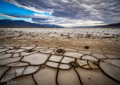 Dried Mud Near Badwater