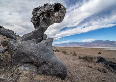 Unusual Rock On The Way To Furnace Creek