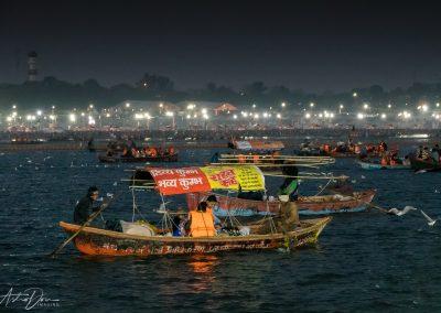 Kumbh Mela Busy Ganges