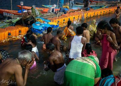 Kumbh Mela Ritual Bathing