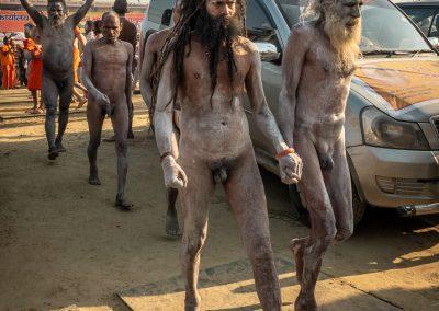 Kumbh Mela Naked Sadhus