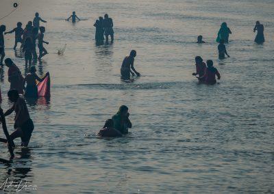 Kumbh Mela Ganges Bathers 2