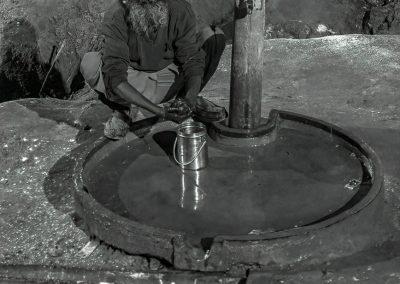 Kumbh Mela Washing Hands