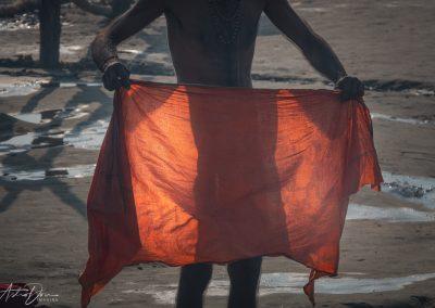 Kumbh Mela Drying Off