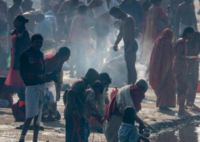 Kumbh Mela Ganges Bathers 4