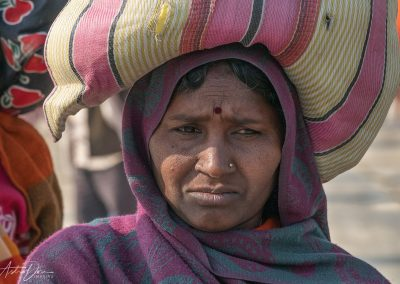 Kumbh Mela Carrying 2