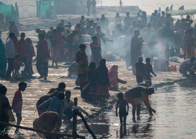 Kumbh Mela Ganges Bathers 3