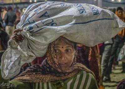 Kumbh Mela Carryng
