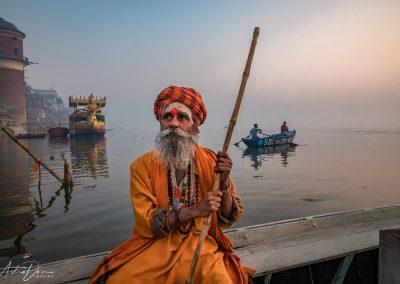 Varanasi Sadhu on the Ganges