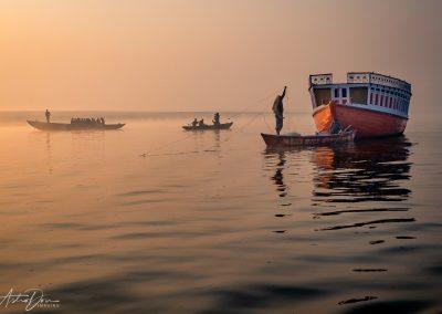 Varanasi Morning Fishing