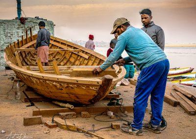 Varanasi Boat Builder