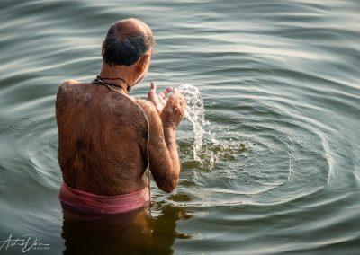 Varanasi Ganges Bather