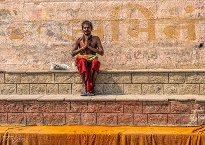 Varanasi Prayerful Solitude