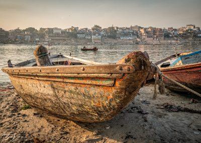 Varanasi from Across Ganges
