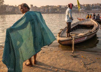 Varanasi Drying Off