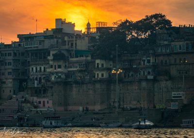 Varanasi at Sunset