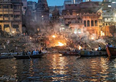 Varanasi Cremations at Manikarnika Ghat