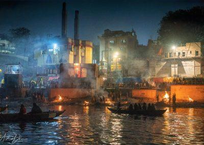 Varanasi Cremations at Smaller Harishchandra Ghat