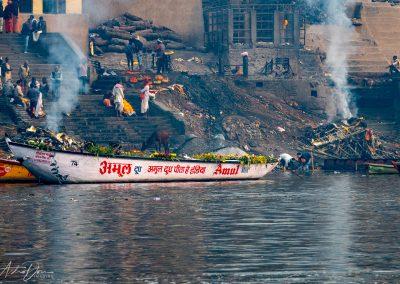 Varanasi Cremations at Manikarnika Ghat 3
