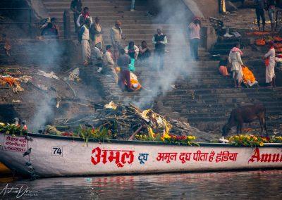 Varanasi Cremations at Manikarnika Ghat 4