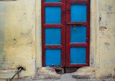 Varanasi Blue Door