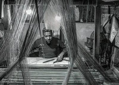 Varanasi Weaver B&W