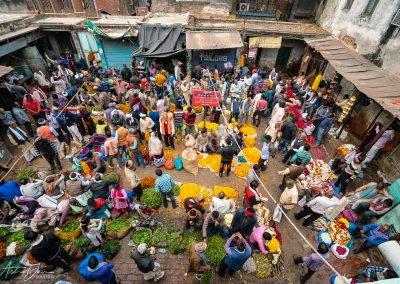 Varanasi Flower Market Near Satyanarayan Temple