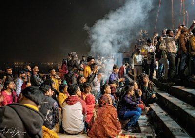 Varanasi Captivated Aarti Audience