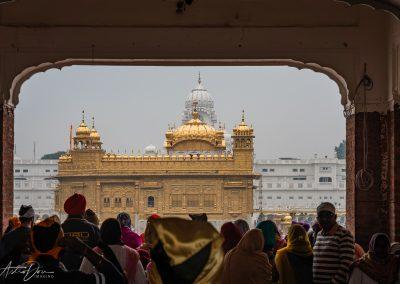 Entering Golden Temple Complex