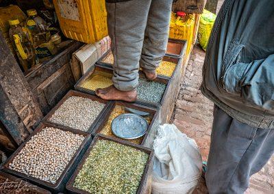 Barefoot Lentil Vendor