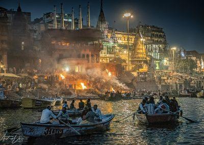 Varanasi Cremations at Manikarnika Ghat 2
