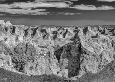 Badlands Monochrome