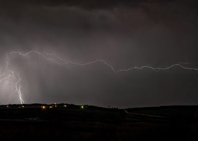 Night Lightning Gillette WY 3