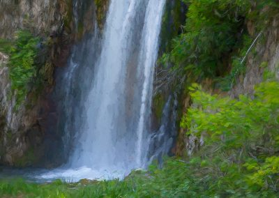 Spearfish Canyon SD Pastel Waterfall
