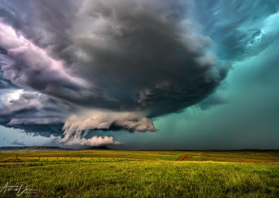 Supercell Pumpkin Buttes WY
