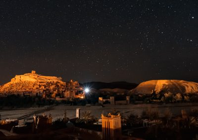 Ait Benhaddou at Night