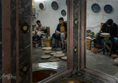 Artisans Reflecting at Work Fez