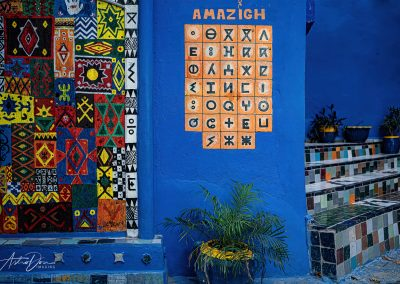 Berber Alphabet Chefchaouen