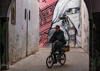 Bicyclist Rabat